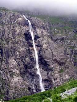 Малый Мидаграбинский водопад