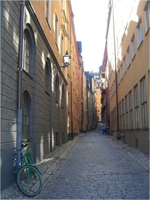 Самая последняя фотография, сделанная в Стокгольме