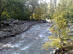 Река Малая Алматинка.