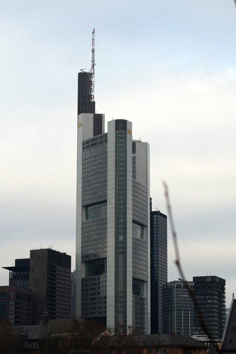 небоскребы во Франкфурте-на-Майне
