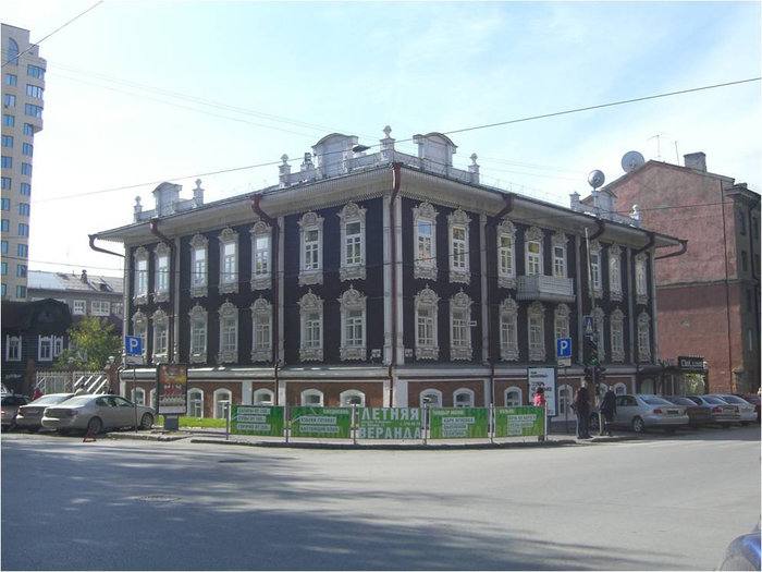Дом И.Т. Сурикова
