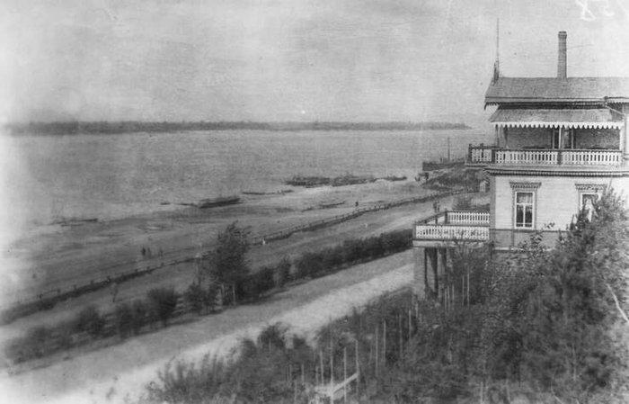 Струковский сад (начало ХХ века)