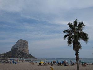 Пляж Калпе (тоже недалеко)