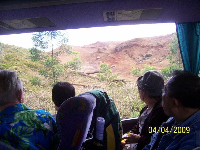 В туристском автобусе