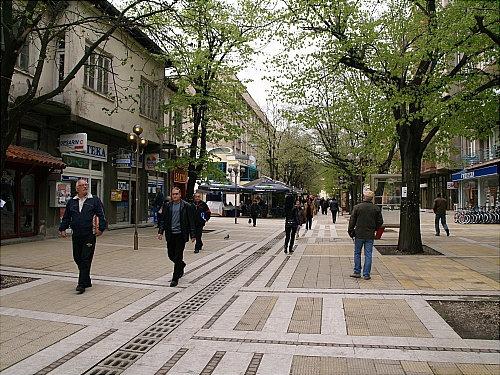 Перник - шахтерский город Перник, Болгария