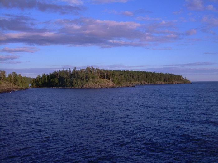 Последний кусочек земли острова.