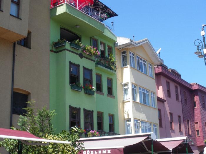 Район Ортакёй: какие красивые домики!