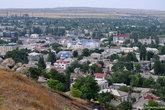 Вид на город с горы Митридат, высота которой 91,4 метра.