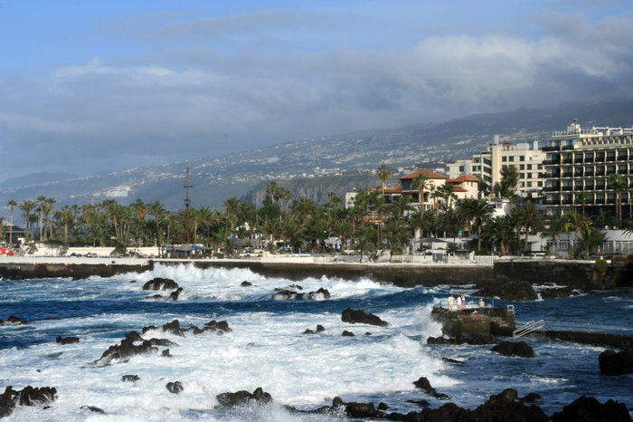 Пуэрто-де-ла-Крус и Атлантический океан