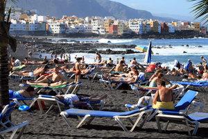 пляж в Пуэрто-де-ла-Крус
