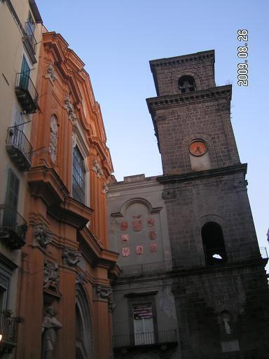 Фасад и колокольня сбоку