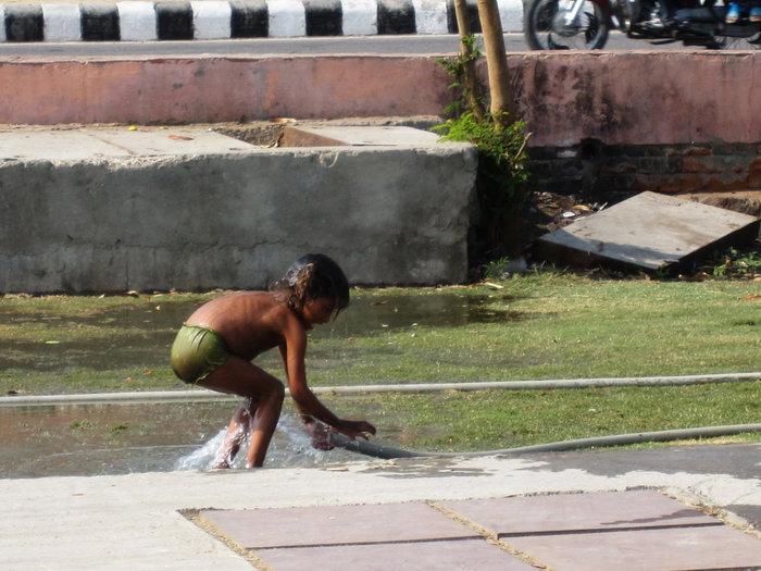 Водные процедуры :)