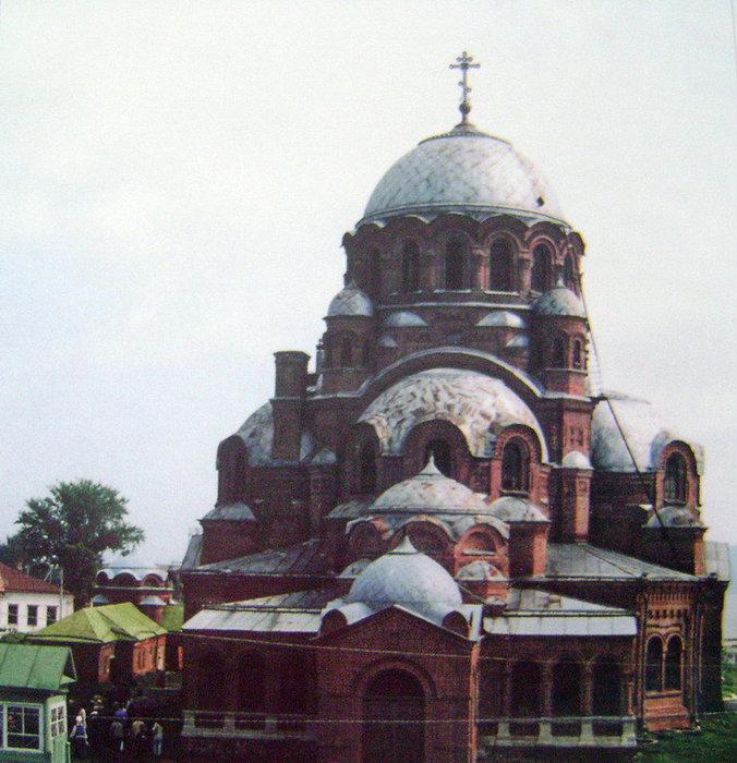 Иоанно-Предтеченский монастырь. Собор Божьей Матери