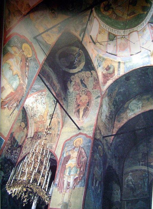 Стенопись Успенского собора в Свияжске — единственный дошедший до наших дней ансамбль фресок эпохи Ивана IV Грозного. Роспись датируется примерно 1561 годом.