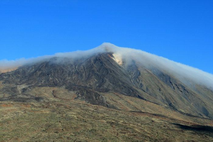 вид на вершину вулкана Тейде