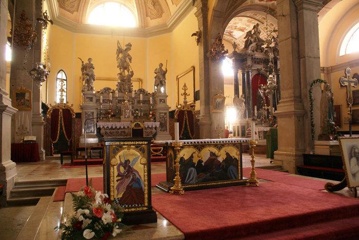В кафедральном соборе в Ровине