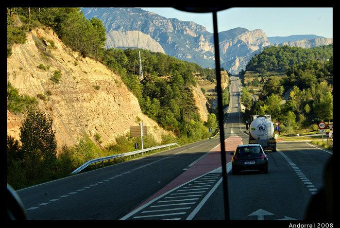 дорога в Андорру