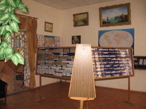 Первый зал музея.
