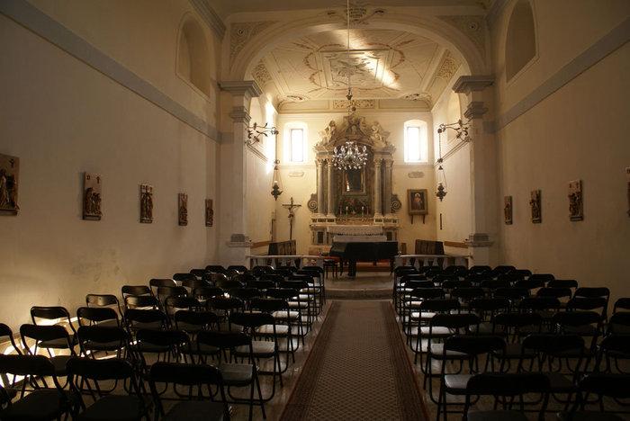 В церкви на острове Раб