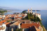 Город Раб — вид с колокольни