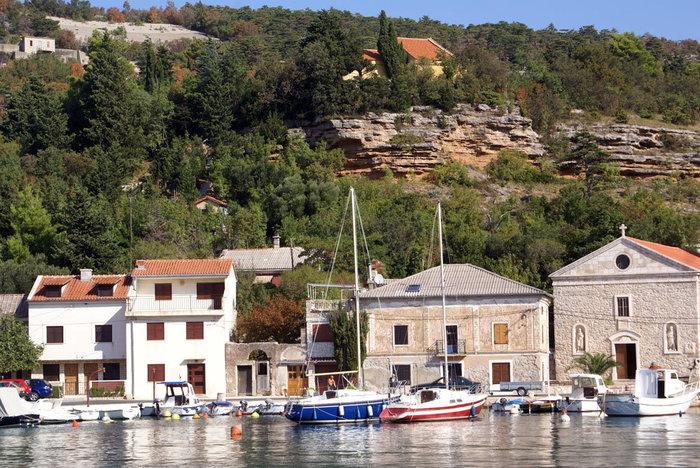 Порт Яблоница на континентальной части Хорватии