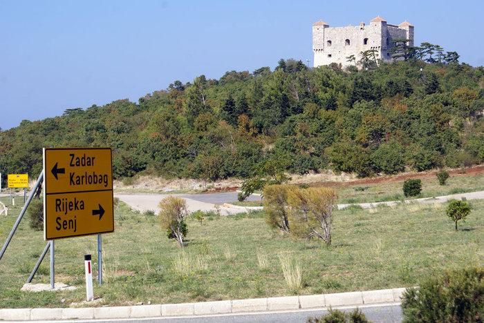 Крепость Нехай в городке Сень, Хорватия