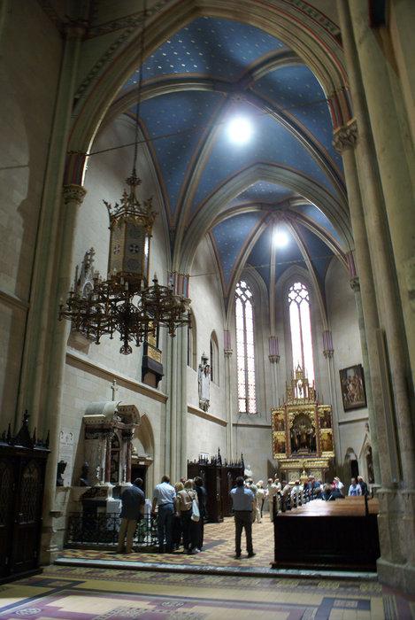 Бокорвой придел в храме Вознесения Девы Марии в Загребе.