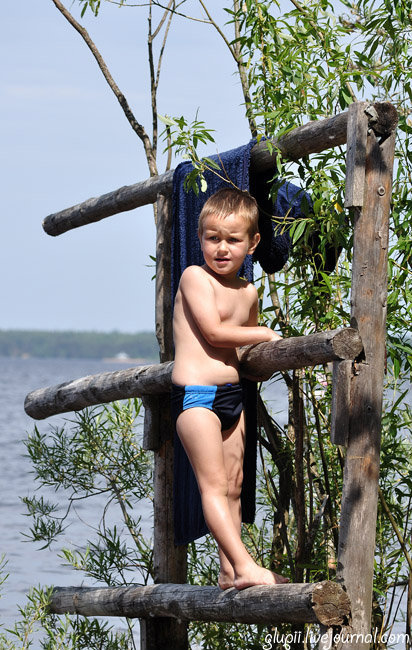Выходные на озере Волго Селище (озеро Волго), Россия