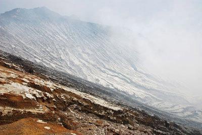Кромка кратера Кава-Иджена