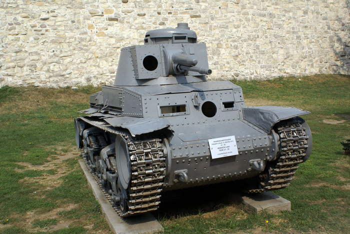 Танк из коллекции Военного музея в Белградской крепости