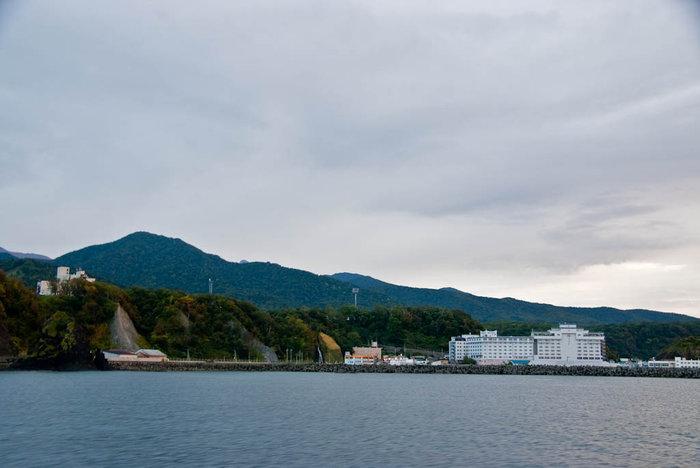 Отель с моря