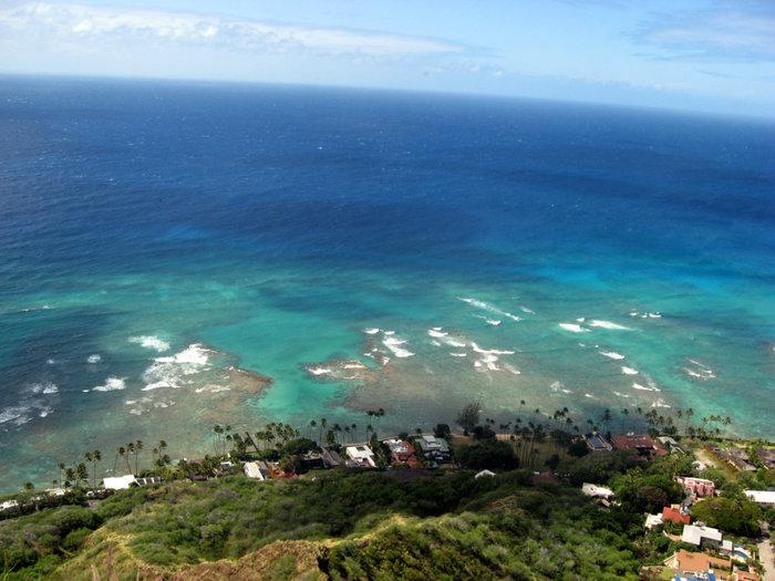 Вид на океан с Бриллиантовой головы