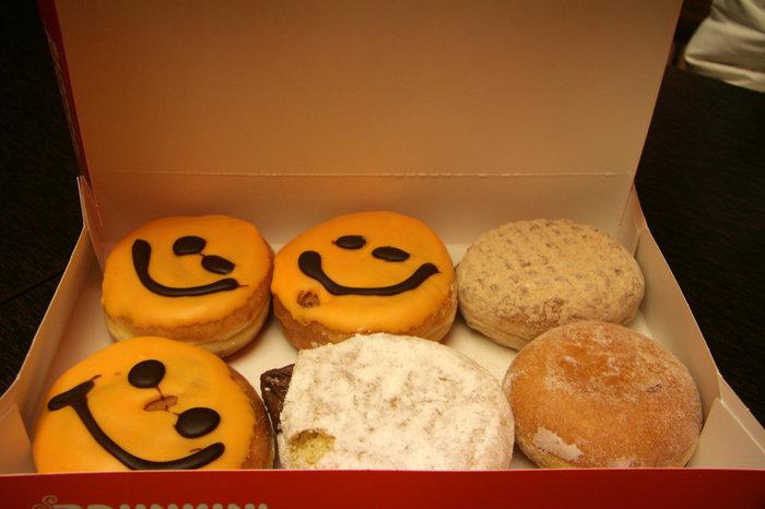 пончики Dunkin Donuts