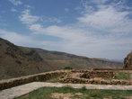 Вид из монастыря на окружающий пейзаж
