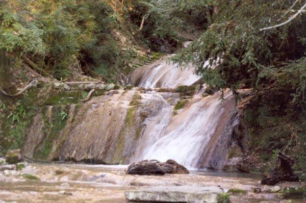 2 водопад — 2,5 м