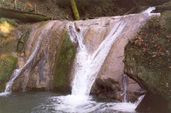 4 водопад — 3,5 м