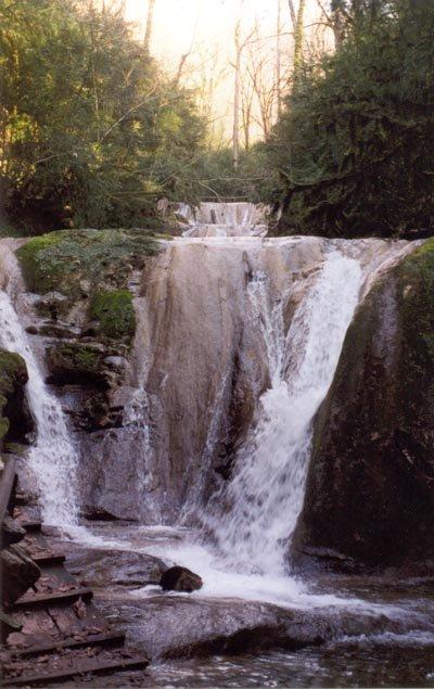 6 водопад — 5,5 м