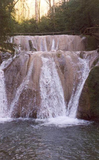 8 и 9 водопады — 4,5 и 5,5 м