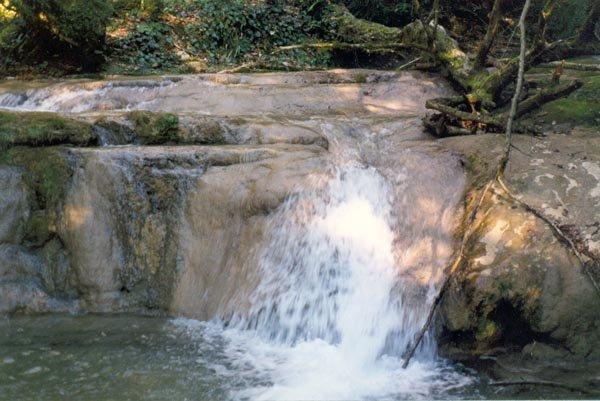 17 водопад — 1,5 м