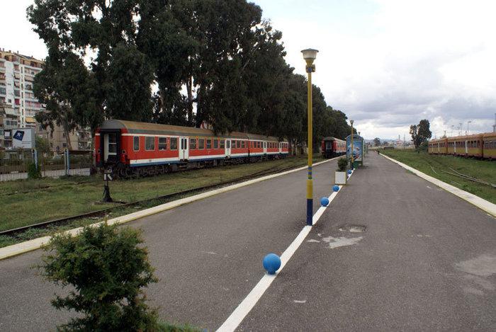 Вокзал в Дурресе не работает