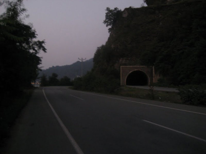 Рядом с грузинской границей. Темнеет