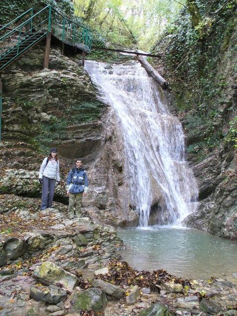 первый водопад — Берендеев