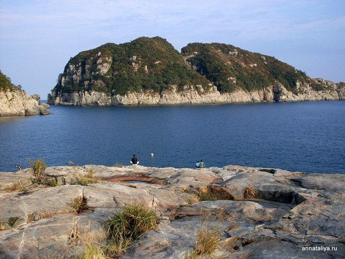 Пейзажи острова Кочже