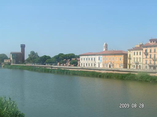Флорентийская цитадель несколько отдалена от городской застройки