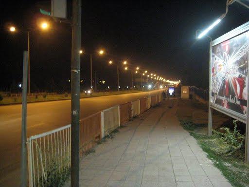 Выезд из города Эрзурум в сторону Стамбула