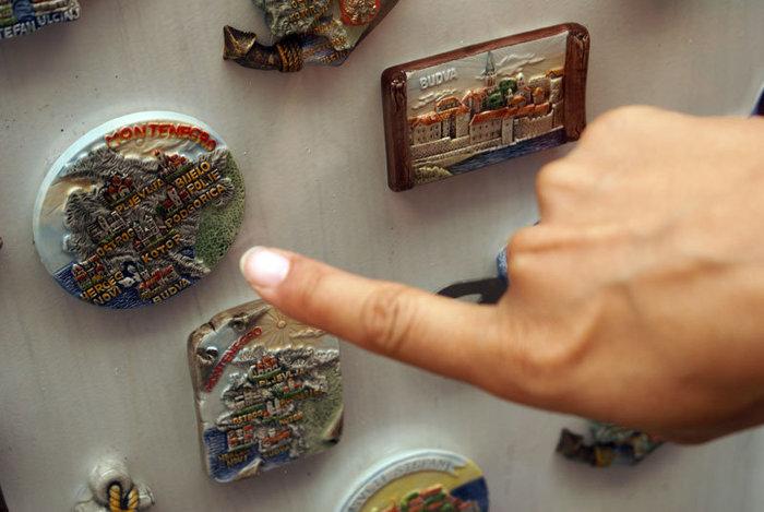 Выбор сувенирного магнита