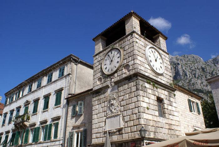 Башня с часами в Которе