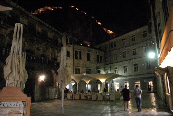 Ночью в Которе