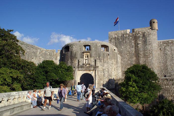 Северный вход в Дубровник