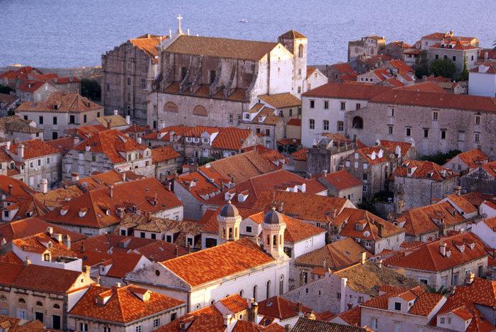 Черепичные крыши Дубровника